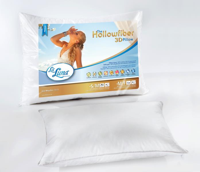 Μαξιλάρι La Luna Hollowfiber 3d Pillow Soft