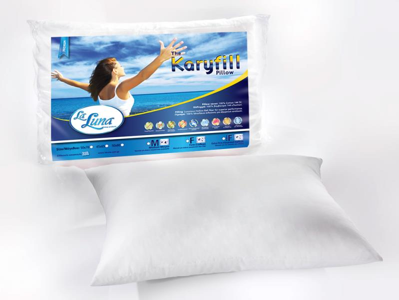 Μαξιλάρι La Luna Karyfill Pillow Firm