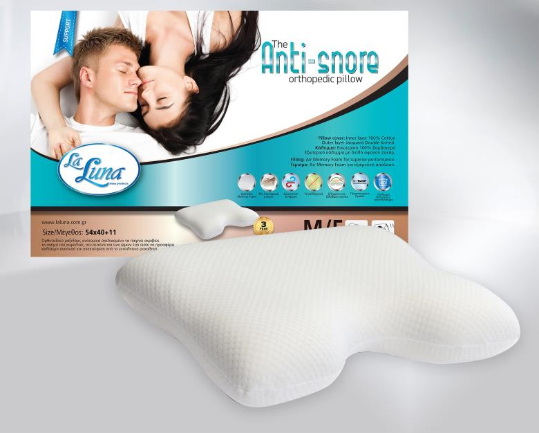 Μαξιλάρι La Luna The Antisnore Orthopedic Pillow