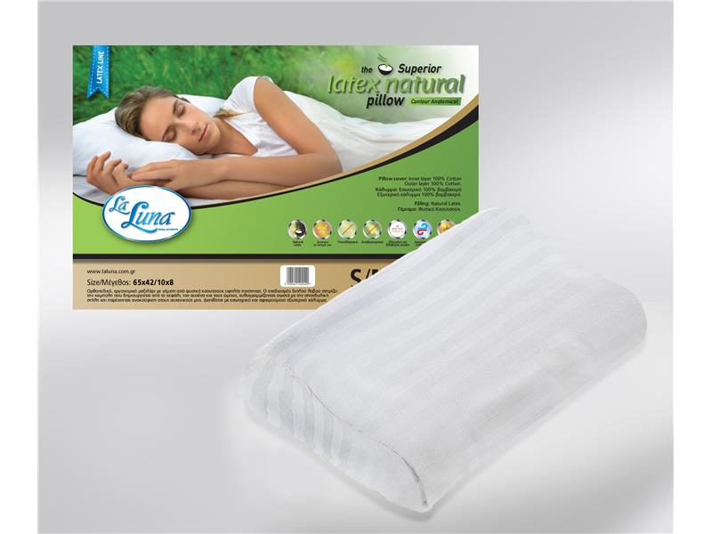 Μαξιλάρι La Luna Superior Latex Pillow Contour Anatomic